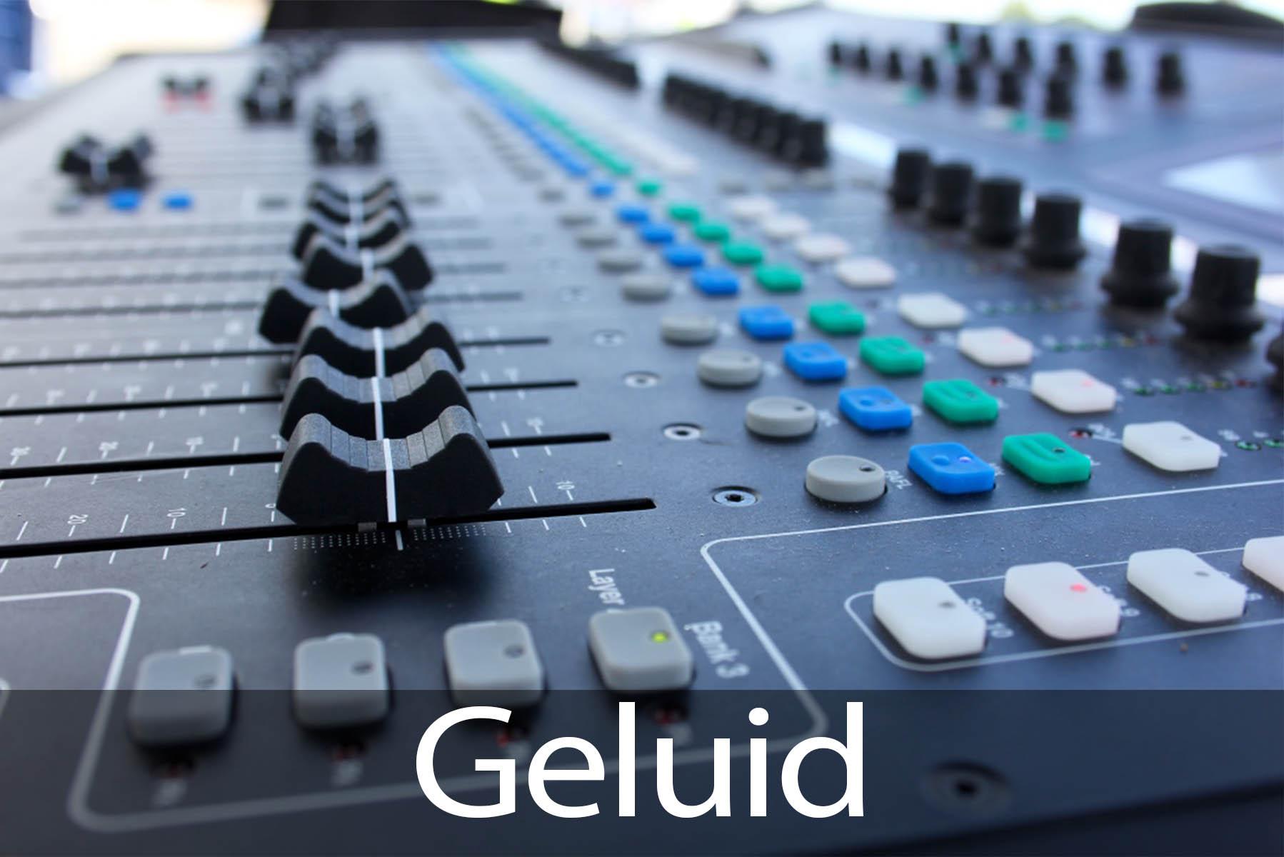 audio huren en geluid verhuur